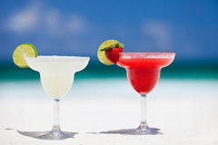 Margarita cocktails Royalty Free Stock Photography