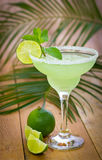 Margarita dans un verre Photos stock
