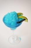 Margarita del azul del cóctel Fotos de archivo
