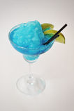 Margarita del azul del cóctel Foto de archivo libre de regalías