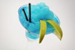 Margarita del blu del cocktail Immagine Stock Libera da Diritti