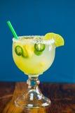 Margarita del pepe del jalapeno Fotografia Stock