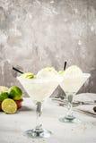 Margarita di galleggiamento del cocktail Immagine Stock Libera da Diritti