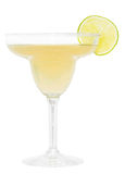 Margarita Drink. Alcoholic drink isolated on white background Royalty Free Stock Photo