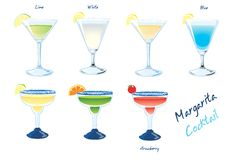 Margarita Drinks Stock Images