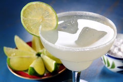 Margarita glass Stock Image