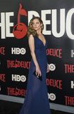 Margarita Levieva. Actress Margarita Levieva arrives for the New York premiere of HBO`s multi-part drama, `The Deuce,` The dramatic series follows the story of Stock Photography