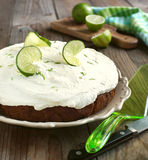Margarita Lime Cake Stock Photo