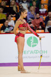 Margarita Mamun, Russia. Clubs Royalty Free Stock Photography