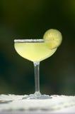 Margarita mit Kalk und Salz Stockbild