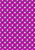 Margarita púrpura Ilustración del Vector