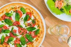 Margarita Pizza Italiana Royalty Free Stock Photo