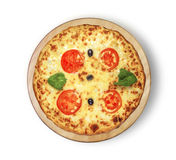 Margarita pizza. Royalty Free Stock Image