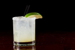 Margarita on the rocks Royalty Free Stock Images