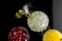 Margarita tastes mix Stock Photo
