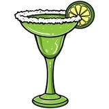 Margarita. A vector illustration of a Margarita stock illustration