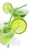 Margaritas avec la limette Images libres de droits