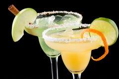 Margaritas de la naranja y de Apple - la mayoría del cockta popular Imagenes de archivo