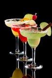 Margaritas - de Meeste populaire cocktailsreeks Stock Foto's