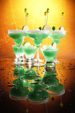 Margaritas in a hot day royalty free stock photo