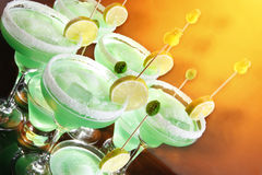 Margaritas in a hot day royalty free stock images