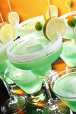 Margaritas in a hot day Stock Photos