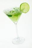 Margaritas mit Kalk stockfoto