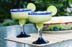 Margaritas surgelées de chaux Photos stock