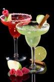 Margaritas van de appel en van de Framboos - populairste coc Stock Afbeeldingen