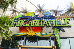 Margaritaville en Las Vegas - LAS VEGAS - NEVADA - 23 de abril de 2017 imagen de archivo libre de regalías