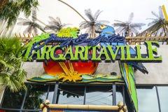 Margaritaville i Las Vegas - LAS VEGAS - NEVADA - APRIL 23, 2017 royaltyfri bild