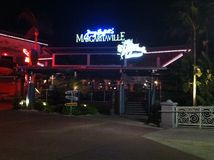 Margaritaville van Jimmy Buffett, Orlando Florida Royalty-vrije Stock Foto