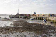 Margate harbour. Kent. England Royalty Free Stock Photos