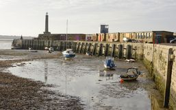 Margate harbour. Kent. England Royalty Free Stock Image