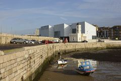 Margate harbour. Kent. England Royalty Free Stock Photography