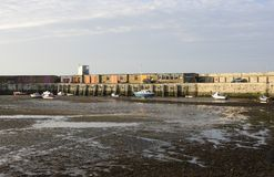 Margate harbour. Kent. England Royalty Free Stock Images
