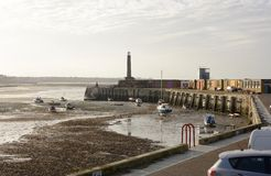 Margate harbour. Kent. England Royalty Free Stock Photo