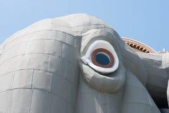 MARGATE NJ - AUGUSTI 16: Lucy elefanten på Augusti 16, 2016 Royaltyfri Bild
