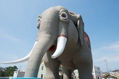 MARGATE NJ - AUGUSTI 16: Lucy elefanten på Augusti 16, 2016 Royaltyfri Foto