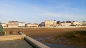 Margate strand Arkivfoto