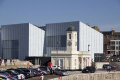 MARGATE UK den Turner Contemporary konstgallerit Arkivbilder