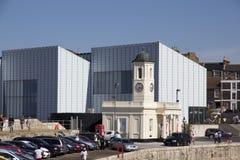 MARGATE UK den Turner Contemporary konstgallerit Arkivbilder