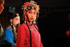 Marge de l'eau d'opéra de la Chine Image stock