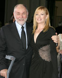 Marge Helgenberger,Robert DAVID Hall Stock Image