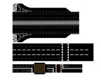 Margem de benefício de três estradas Imagem de Stock Royalty Free