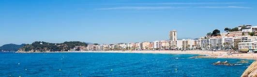 Margem de Lloret de Mar Costa Brava Spain Fotografia de Stock Royalty Free