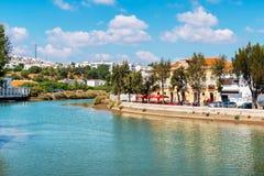 Margem de Tavira O Algarve, Portugal Imagem de Stock
