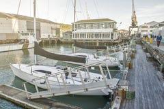 Margem de Wellington, ilha norte de Nova Zelândia Imagens de Stock