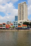 Margem histórica do ` s de Singapura Imagens de Stock