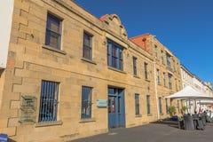 A margem a mais velha em Hobart, Tasmânia imagem de stock royalty free